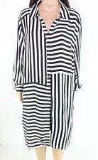 INC Women's Blouse Striped  Black Size 3X Plus Button Down Shirt $84 #010
