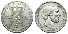 Netherlands - 2½ Gulden 1861 - Willem III
