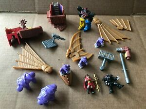 Power Rangers Turbo Divatox Submarine play set - spare parts & action figures