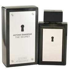 The Secret by Antonio Banderas 3.4 oz for Men edt New In Box