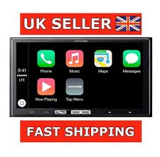 "Alpine ilx-700 Apple Carplay 7.0 ""coche van Pantalla Táctil Doble Din Ipod Iphone"