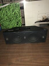 BEATS BY DR. DRE BEATBOX PORTABLE BLACK SPEAKER SYSTEM **POWER ON PORT