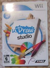 Nintendo Wii uDraw Studio (Manual, box and game) #2