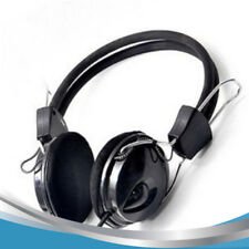 Hot selling wired Earphone Headphone with Microphone MIC Headset Skype for PC Co