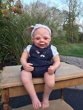 Reborn toddler goofy face  girl doll  Ginny by E. Steger