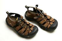Keen Men's Hiking Sandals Newport Outdoor Water Shoes Size 7.5 Brown