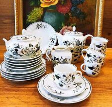 "Coffee set ""PEARL ROSE"" Verbilki USSR 1970 21 items (NO LFZ)"