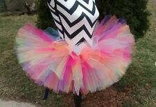 adults tutu tulle handmade usa skirt colorful full plus sz