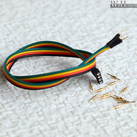 5 x extending wires with Connector for HO N O Scale 3 aspects signals #4P
