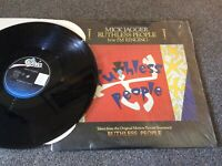 "MICK JAGGER - RUTHLESS PEOPLE, US-12"" 1986 EPIC  MINT ! Rolling Stones"
