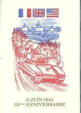 Livretluxe Cérèsencart soie.YT n°2887 - Débarquement du 6/06/1944