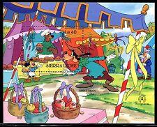 Sierra Leone, MNH Disney, Mother Goose Fairy Tales, Simple Simon 1986. x14617b