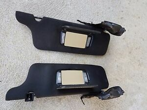 ✅ 1994 - 2004 FORD MUSTANG CONVERTIBLE L&R SUNVISOR OEM black color