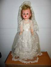"Sayco ~ Vintage 1950's Sayco Walker Original Bride 28"" Playpal Type Doll"