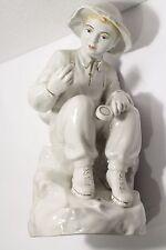 Antiques Vintage RARE Porcelain figurine of the USSR Junior Geologist Polonne
