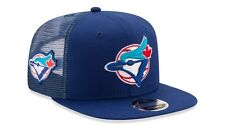 Toronto Blue Jays New Era MLB 9FIFTY Mesh Trucker Patched Snapback Hat Cap 950
