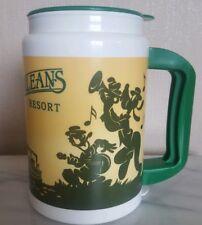 Disney Port Orleans Resort Plastic Cup/Travel  Mug, CocaCola, Mickey, Goofy, VGC