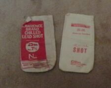 Pair of Shot Bags, Winchester & Lawrence-Empty