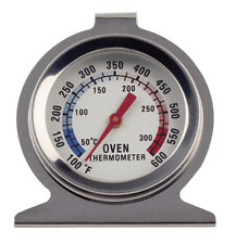 Oven Thermometer Stainless Steel Classic Stand Up Food Meat Temperature Gauge
