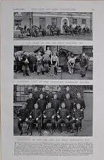 1897 BOER WAR R.A.GUN TEAM FARRIERS SHOP EXETER SGTS 18TH & 73RD BATTERIES