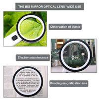 30X High Power Handheld Magnifying Glass Led Light Illuminated Magnifier  LED