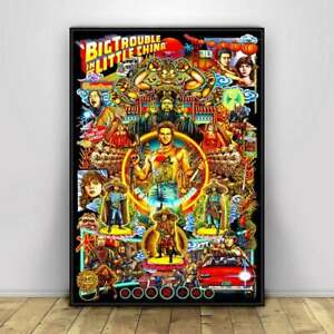 Big Trouble in Little China Movie Poster Wall Painting Home Decor Gift Art Print