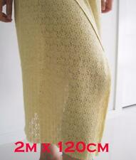 2 Meter Stretch Lace Fabric Vintage Sewing Soft Tulle Mesh Dress 120cm Material