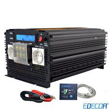 3500W 7000W Power inverter 12V 240V pure sine wave inverter LCD Softstart Remote
