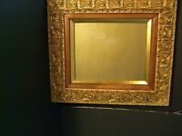 "19th Century Ornate Antique Picture Frame Fits 8 x 10"" Photo Or Watercolor"