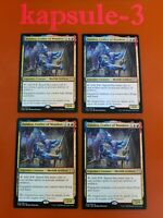 x4 MTG Theros Beyond Death Dalakos Crafter of Wonders Extended Art