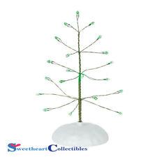 Dept 56 Snow Village 6001734 Twinkle Brite Tree Green 2018