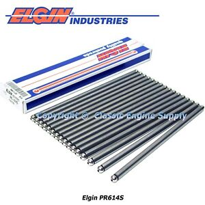 New Set of 16 USA Made Push Rods Fits Some 1999-2014 GM 5.3L LS Engines