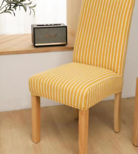 Stripe Dining Chair Covers..