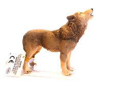 Z6) NEU PAPO 50171 Wolf  heulend Hund Hunde Tierfigur Tierfiguren