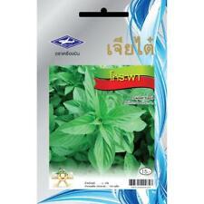 Sweet basil Seed Thai Herb Home Grown Vegetable Backyard Garden Food Spicy