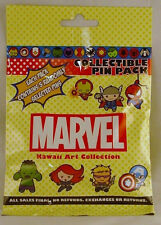 Disney Pin Collectible MARVEL KAWAII ART  Mystery Pack Random SEALED Set of 5