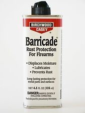 Birchwood Casey Barricade Rust Protection 4.5 oz Gun Oil Spout Can