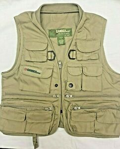 Gander Mountain Fly Fishing Vest Hiking Camping Photography Vest Youth Small NEW