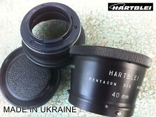 Pentacon Six 6 P6 Kiev 60 88CM Lens+MACRO Ring to Pentax K/PK Camera Adapter