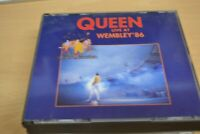 QUEEN    LIVE AT WEMBLEY 86    DOUBLE  CD  ALBUM   FAT CASE   FREE POSTAGE
