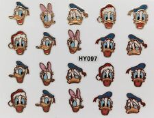 Nail Art 3D Decal Stickers Ducks HY097