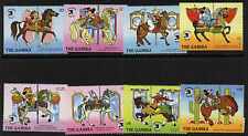 Gambia 898-907 MNH Disney Characters riding Carousel Horses