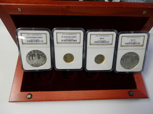 1996 Smithsonian Commemorative  Four (4) Coin Set