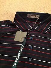 G/Fore Peter Millar Golf Shirt Blue Size S Nwts Retail $125 Bonus Key Chain!