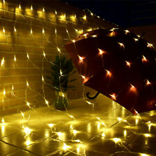 2020 LED Net Lights String Fairy Window Curtain Wedding Party Christmas Decorate
