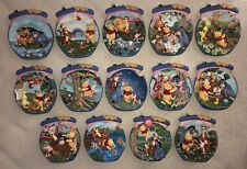 Winnie the Pooh's Honeypot Adventures - Complete Set of Fourteen Plates Bradford