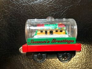 Thomas the Tank Engine Season's Greetings Tanker Train Car 2003 Holiday Collect