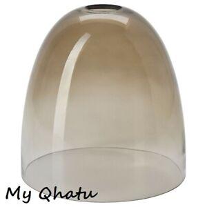 "Ikea KLOCKRIKE Pendant lamp shade glass 8"" 104.626.70 New"
