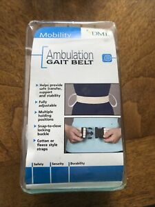 Duro-Med DMI Cotton Physical Therapy Gait Belt Patient Transfer 533-6027-0022