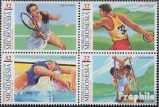 Mikronesien 550-553 block of four (complete.issue.) unmounted mint / never hinge